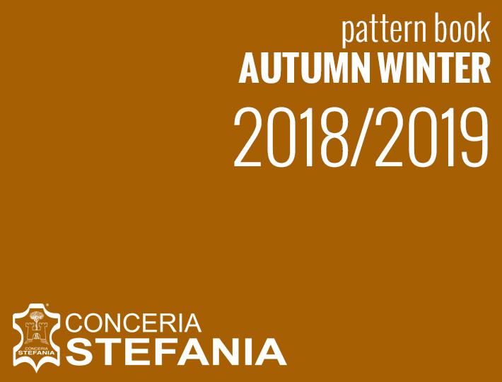Pattern books Fall Winter 2018/2019