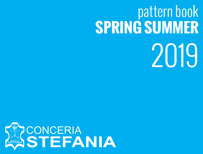 Pattern books Sprin Summer 2019