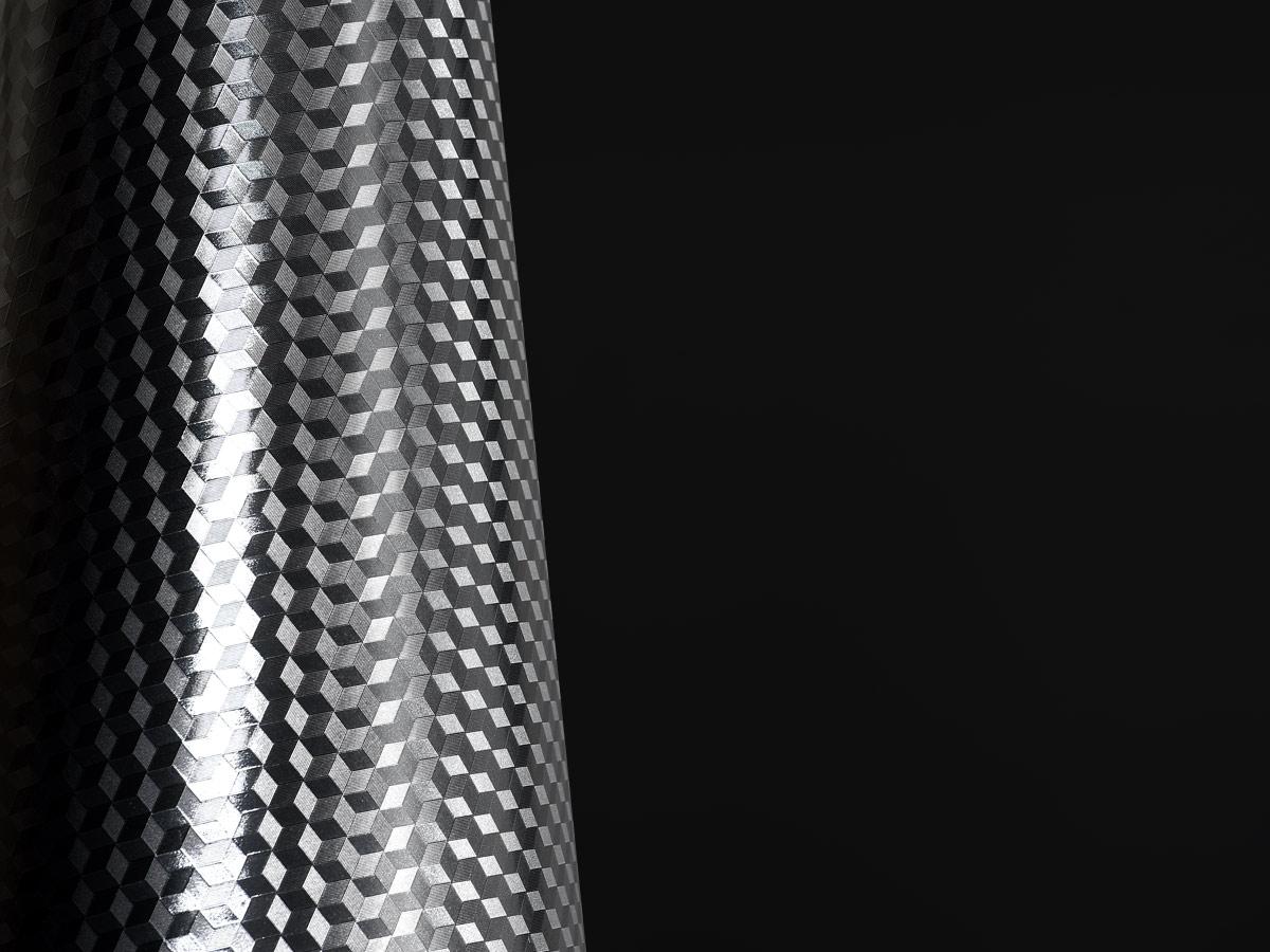 Cubik Lamé | Stampa su specchio